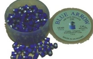 blue arrow lead free pellets