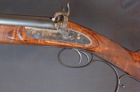10 bore Purdey Double Rifle-3