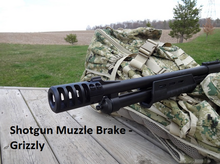 Grizzly clamp on muzzle brake